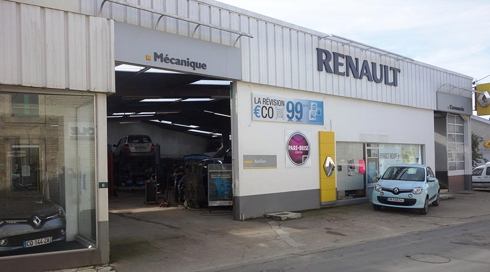 Commerces for Garage renault st fargeau ponthierry